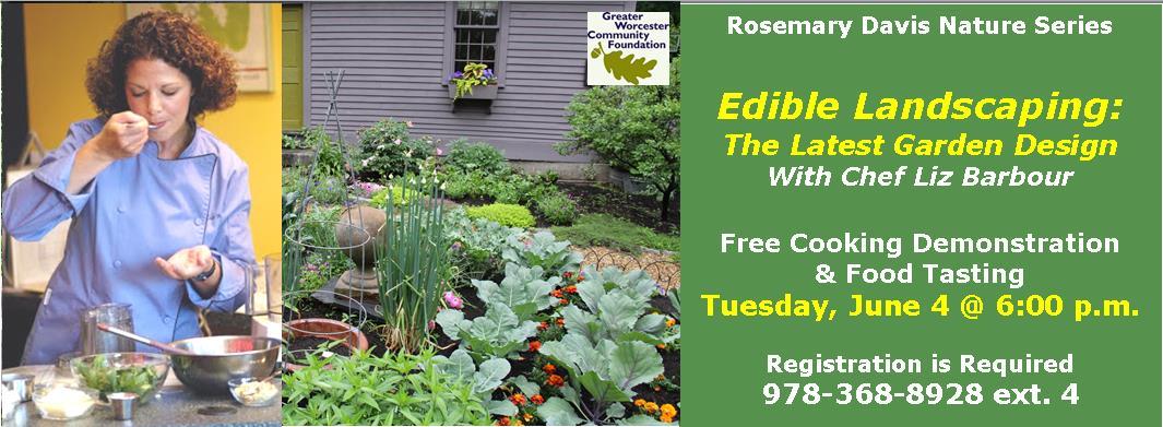 Edible Landscaping The Latest Garden Design Thayer Memorial Library